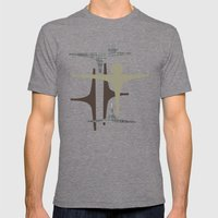 MCM Frarndt Silver Mens Fitted Tee Tri-Grey SMALL