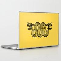 aztec Laptop & iPad Skins featuring Aztec by Estelle F