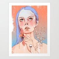 Take Me Somewhere Before… Art Print