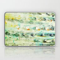Greenish Abstract Laptop & iPad Skin