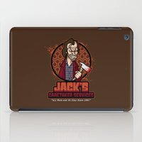 Jack's Caretaker Services iPad Case