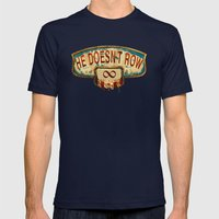 Bioshock Infinite Mens Fitted Tee Navy SMALL