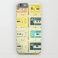 turquoise iPhone & iPod Cases featuring All Tomorrow's Parties by Cassia Beck
