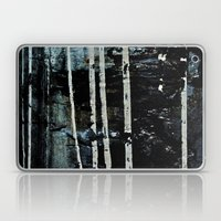 Birch Forrest At Night Laptop & iPad Skin