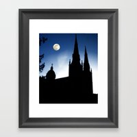 Church Faith Framed Art Print