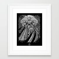 One From Beneath  Framed Art Print