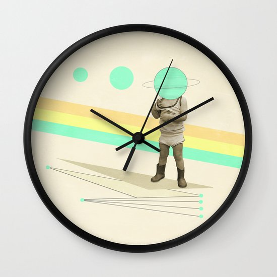 he believes he can fly Wall Clock