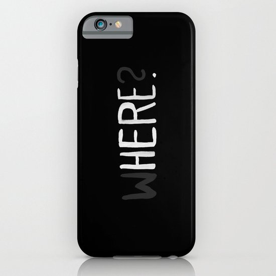 Here. iPhone & iPod Case