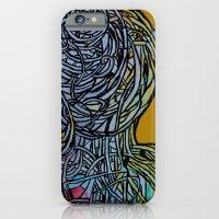 iPhone & iPod Case featuring Windower Mustard by Elizabeth Seward