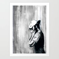 No One Will Know Who You… Art Print