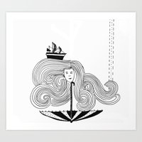 I Am My Own Umber-ella Art Print
