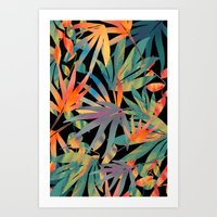 Club Tropicana Sunset  Art Print