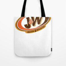 Jeeves and Wooster's Fine Beverages Tote Bag