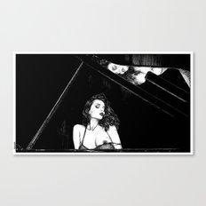 asc 655 - La pianiste (Romanian rhapsody) Canvas Print