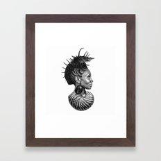 She Sells Seashells From Her Soul Framed Art Print