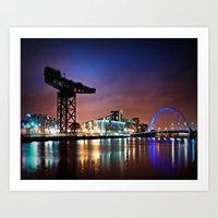 The Clyde Arc Art Print
