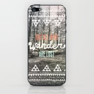 iPhone & iPod Skin featuring Wander by Wesley Bird
