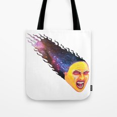 Comet Girl Tote Bag