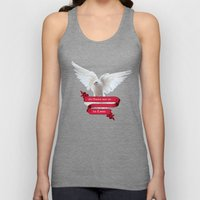 His Banner over me is Love Unisex Tank Top