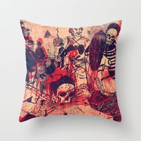 Boom Doom Ka Doom Throw Pillow