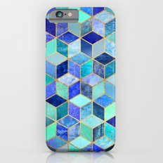 Blue Cubes iPhone 6 Slim Case