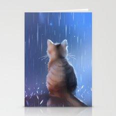 Under Rainy Days Like Th… Stationery Cards