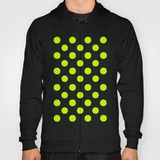 Polka Dots (Lime/White) Hoody