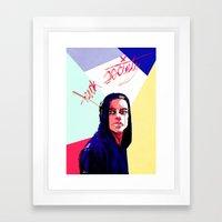 F.Society Framed Art Print