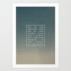 III. Find Happiness Art Print