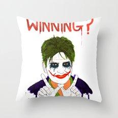 The new joker? Throw Pillow