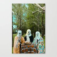 Halloween#1 Canvas Print