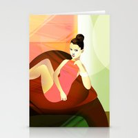 plaster of palm Stationery Cards