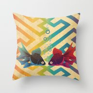 Throw Pillow featuring You & Me Both by Angelo Cerantola