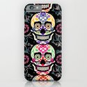 Happy calaveras iPhone & iPod Case