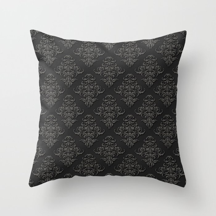 Victorian Outdoor Pillows : Victorian Pattern 2B Throw Pillow by Pixel404 Society6