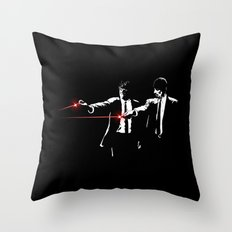 Meth Fiction Throw Pillow