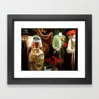 Traditional Austrian Garments Framed Art Print