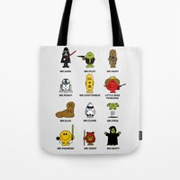 Mr. and Little Miss SW Tote Bag