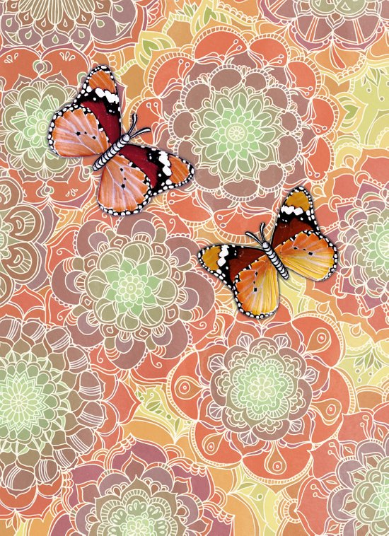 Butterfly Obsession Art Print