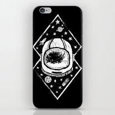 Space Traveller iPhone & iPod Skin