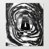 Marble A Canvas Print