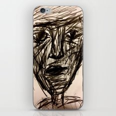 Hurry To The Pause. iPhone & iPod Skin