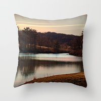 Peaceful Easy Feeling Throw Pillow