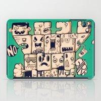 man castle iPad Case