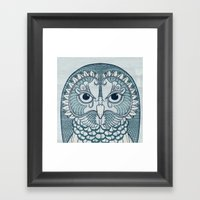 Owlustrations 1 Framed Art Print