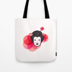 Geisha Icon Tote Bag
