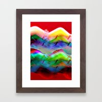 Ocean-Race  No11 Framed Art Print