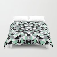 Abstract Kaleidoscope Mi… Duvet Cover