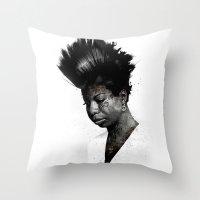 NINA'S NOT DEAD Throw Pillow