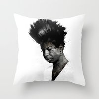 NINA'S NOT DEAD Throw Pillow